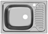 Врезная кухонная мойка UKINOX Classic CLM 560.435-5K 56х43.5см нержавеющая сталь