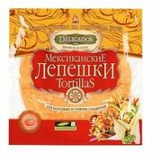 Delicados Лепешки Tortillas пшеничные томатные бездрожжевые 400 г