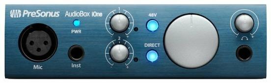 Внешняя звуковая карта PreSonus AudioBox IOne