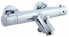 Смеситель для ванны с душем Slezak RAV Dunaj termo TRM54.5 двухрычажный с термостатом хром