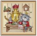 М.П.Студия Набор для вышивания Тёплый вечер 24 x 25 см (нв-522)