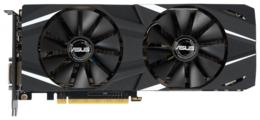Видеокарта ASUS GeForce RTX 2060 1365MHz PCI-E 3.0 6144MB 14000MHz 192 bit DVI 2xHDMI HDCP DUAL OC