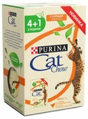 Корм для кошек CAT CHOW с курицей 85 г (кусочки в желе)