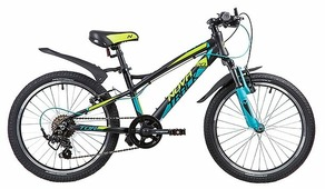 Подростковый горный (MTB) велосипед Novatrack Tornado 20 (2019)