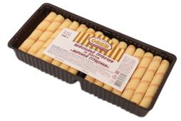 Вафельные трубочки Семейка ОЗБИ с вкусом вареной сгущенки 180 г