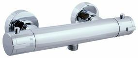 Смеситель для душа Slezak RAV Dunaj termo TRM80.5 двухрычажный с термостатом хром