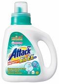 Гель для стирки ATTACK BioEX концентрированный универсальный в бутылке