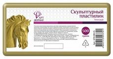 Пластилин АРТформат Скульптурный телесный 500 г (AF11-011-13)