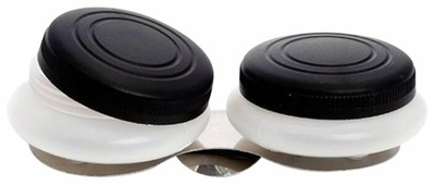 Масленка Невская палитра пластиковая двойная с крышкой DK11004