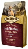 Корм для кошек Carnilove Lamb & Wild Boar Sterilised for adult cats