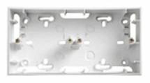 Коробка наружного монтажа Schneider Electric UNICA MGU8.004.18, белый