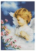 Белоснежка Набор алмазной вышивки Малютка Ангел (169-ST-S) 40x50 см