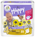 Bella Baby happy подгузники fun 4+ (9-20 кг) 25 шт.