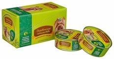 Корм для собак Деревенские лакомства Домашние обеды индейка, рубец с цукини 100г (для мелких пород)