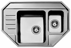 Врезная кухонная мойка TEKA Stage 60E 81.6х56.5см нержавеющая сталь