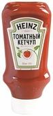 Кетчуп Heinz Томатный, пластиковая бутылка-перевертыш