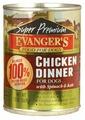 Корм для собак Evanger's Super Premium Chicken Dinner консервы для собак