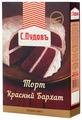 С.Пудовъ Мучная смесь Торт Красный Бархат, 0.4 кг