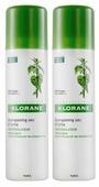 Сухой шампунь Klorane с экстрактом крапивы, 2 флакона по 150 мл