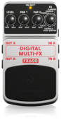 BEHRINGER педаль эффектов FX600