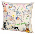 Gift'n'Home Подушка декоративная Gift n Home Cats n Mouse 35х35 см (PLW-35 Cats)