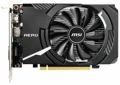 Видеокарта MSI GeForce GTX 1650 1740MHz PCI-E 3.0 4096MB 8000MHz 128 bit DVI HDMI HDCP AERO ITX OC