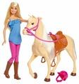 Кукла Barbie с лошадью, FXH13