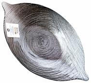 Akcam Овальное блюдо Серебрянный туман 37 см