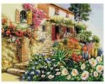 Белоснежка Набор для вышивания Итальянский дворик 42 x 32 см (4025)