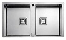 Интегрированная кухонная мойка FULGOR MILANO P2B 8651 QA F-SF