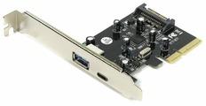 USB 3.1 Gen2 контроллер ORIENT AM-31U2PE-AС