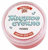 Жвачка для рук NeoGum Жидкое стекло розовый (GL004)