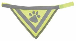 Бандана для собак TRIXIE Safer Life со светоотражающим рисунком L-XL