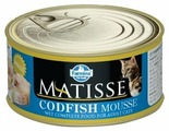 Корм для кошек Farmina Matisse с треской 85 г