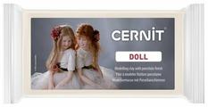 Полимерная глина Cernit Doll бисквитная (042), 500 г