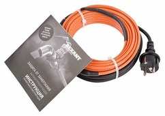 Греющий кабель саморегулирующийся REXANT 10HTM2-CT (25/250)