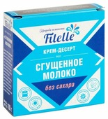 Сгущенка Fitelle Крем-десерт без сахара 100 г