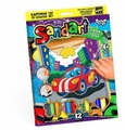 Danko Toys Фреска Sandart Машинка (SA-01-01)