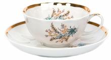 Дулёвский фарфор Чашка чайная с блюдцем Тюльпан Нина 220 мл