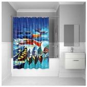Штора для ванной IDDIS 560P18Ri11 180x200