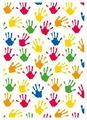 Бумага упаковочная Stewo Hands