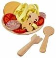 Набор продуктов с посудой PlanToys 3466