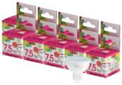 Упаковка светодиодных ламп 10 шт ASD LED-STD 6500К, GU5.3, JCDR, 7.5Вт