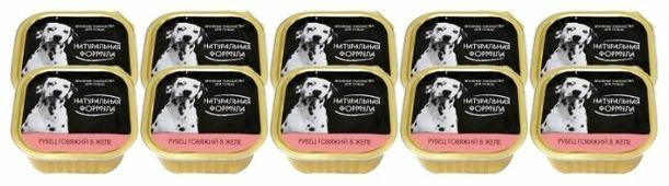 Корм для собак Натуральная Формула Консервы для собак Рубец говяжий в желе