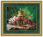 Золотое Руно Набор для вышивания Чай с мёдом 35,5 х 44,5 см (СЖ-046)
