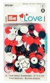 Prym Кнопки непришивные Love - Color Snaps звезда (3930**), 12.4 мм, 30 шт.