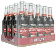 Темное пиво Krusovice Cerne безалкогольное 0,5 л 20 шт