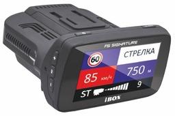 Видеорегистратор с радар-детектором iBOX Combo F5 Signature