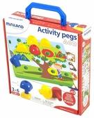Miniland Мозаика Activity Pegs 18 элементов (31787)