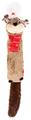 Игрушка для собак GiGwi X-Mas Tales Бобер (75469)